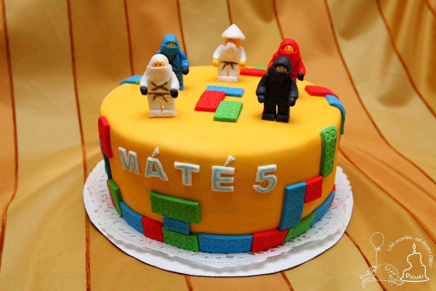 picuki ninjago lego torta ii