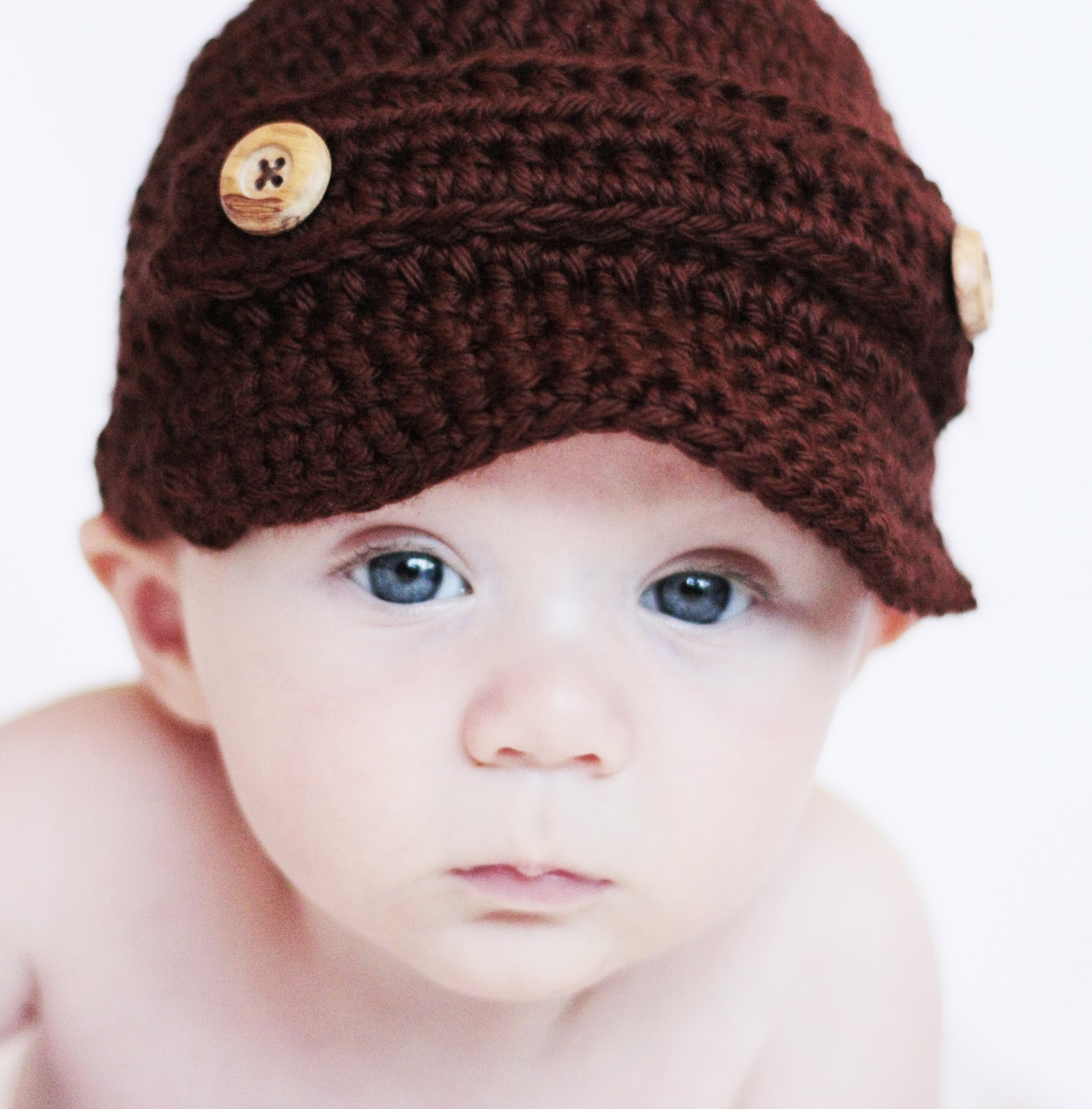 Petit lambie september 2011 newsboy hat with buttons by petit lambie bankloansurffo Images