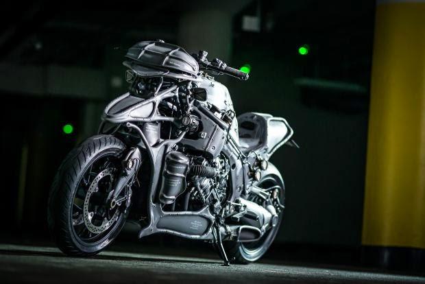 BMW Custom Bike Modify
