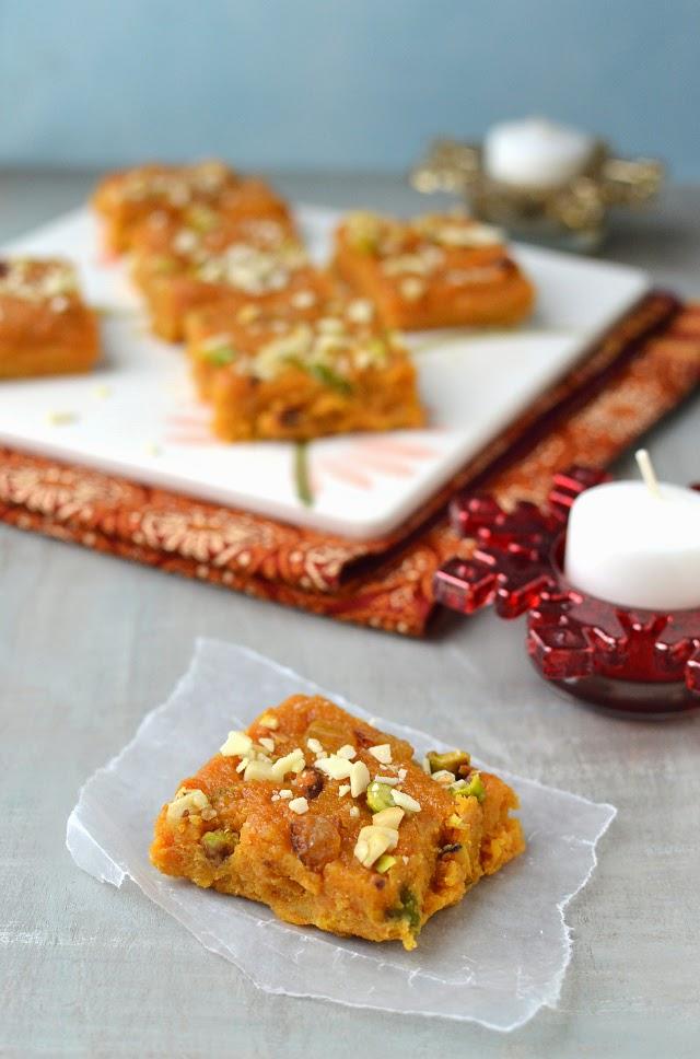 Afghani Carrot Halwa (Carrot and Ricotta Halva)