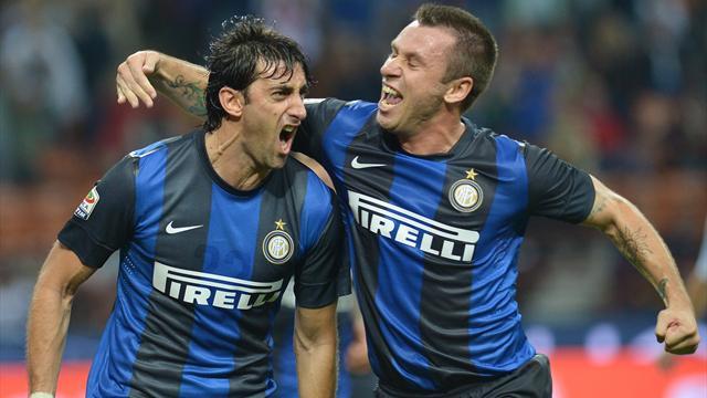 Cuplikan Video Highlights Inter Milan vs Fiorentina 2-1