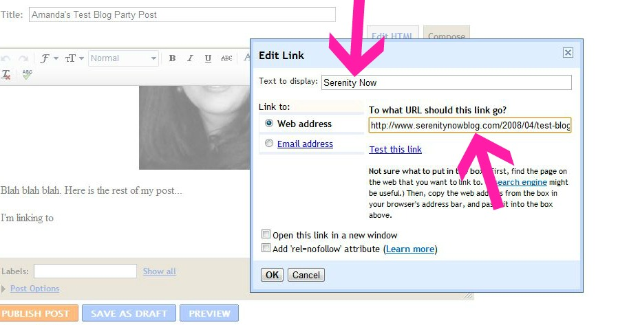 how to add a link to wix text