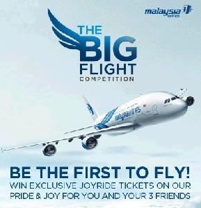 MAS lancar pertandingan 'Big Flight'