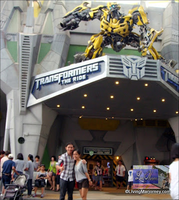 Transformers The Ride Singapore