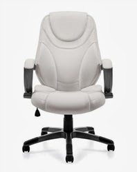 Offices To Go White Executive Chair 2787