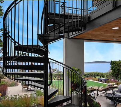 Fotos de escaleras escaleras de caracol para exterior - Escalera caracol prefabricada ...