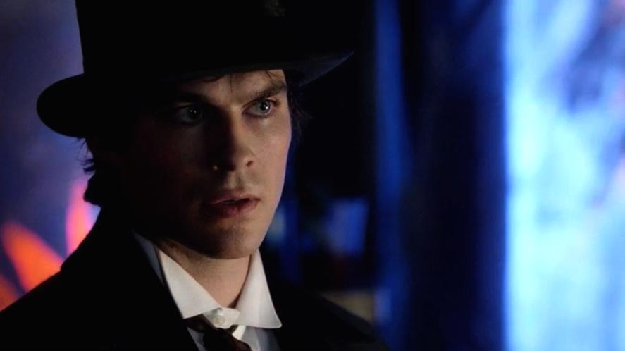 Damon salvatore vampire diaries season 4