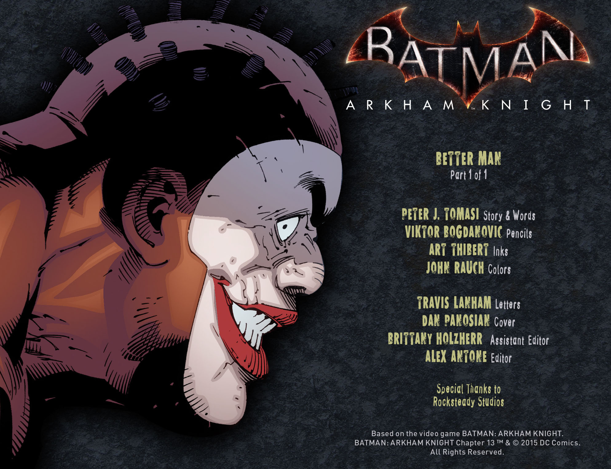 Batman: Arkham Knight [I] Issue #13 #15 - English 2