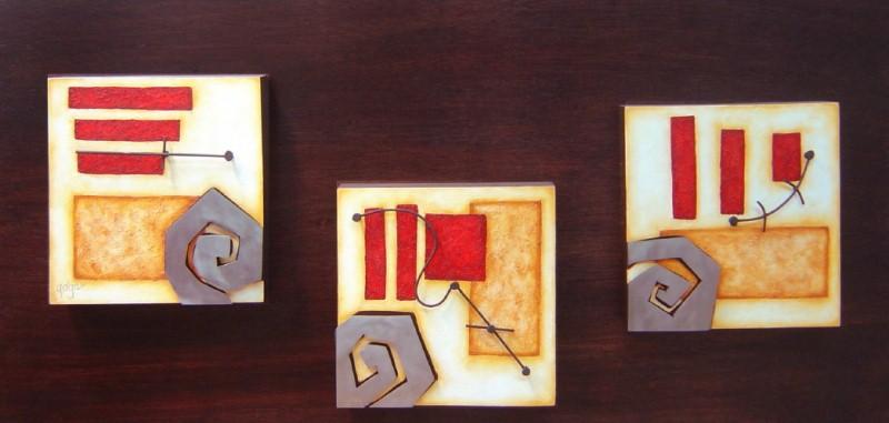 Pintura: Cuadros Trípticos Modernos