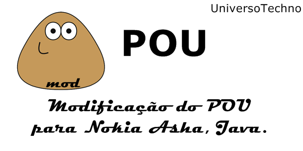 Já pensou jogar POU no seu celular Java? Agora você pode!