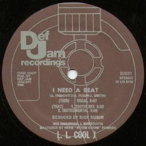 LL Cool J – I Need A Beat (VLS) (1984) (FLAC + 320 kbps)