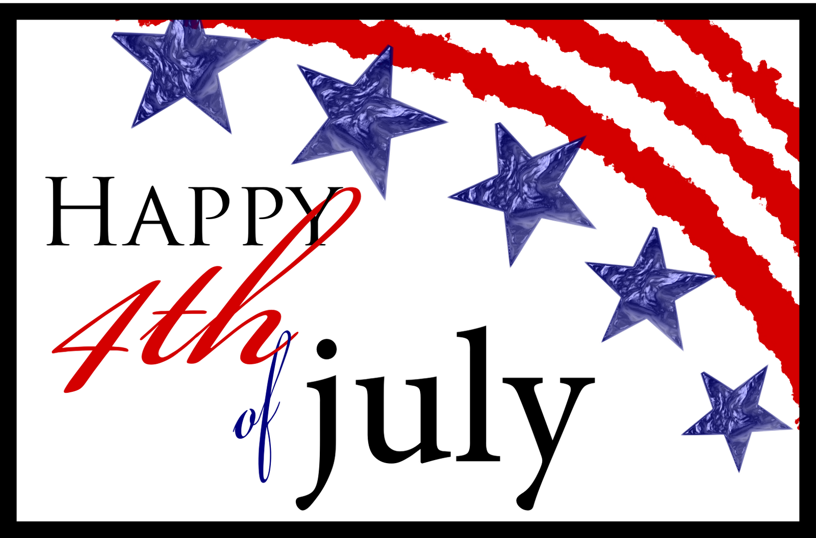 Have a wonderful 4th of July with your families