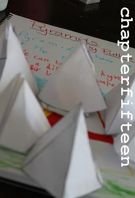 maths pyramid activity