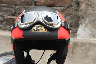Helm Kulit Surabaya, Jual Helm Kulit, Helm Vespa, Helm CB, Helm Anak.