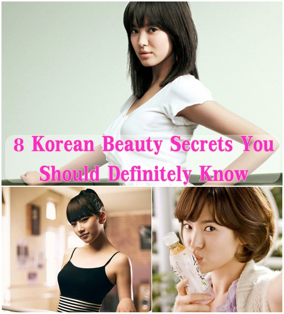 8 Korean Beauty Secrets You Should Definitely Know