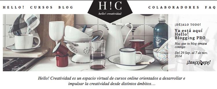 hello creatividad, curso blogger, hello blogging, hello blogging pro