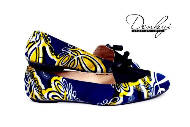 African print shoes on ciaafrique- chaussures en pagne sur ciaafrique