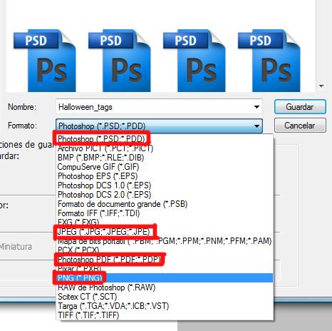 Como crear un archivo pdf en photoshop