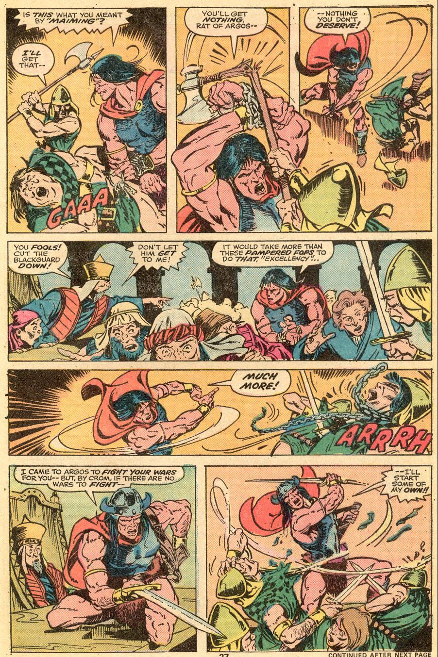 Conan the Barbarian (1970) Issue #57 #69 - English 17