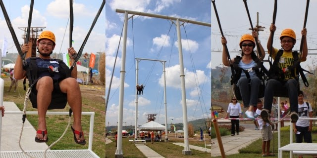 Giant Swing in Porac, Pampanga