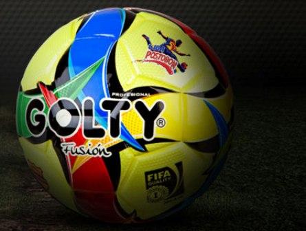 Golty Fusión, el nuevo balón de la Liga Postobon