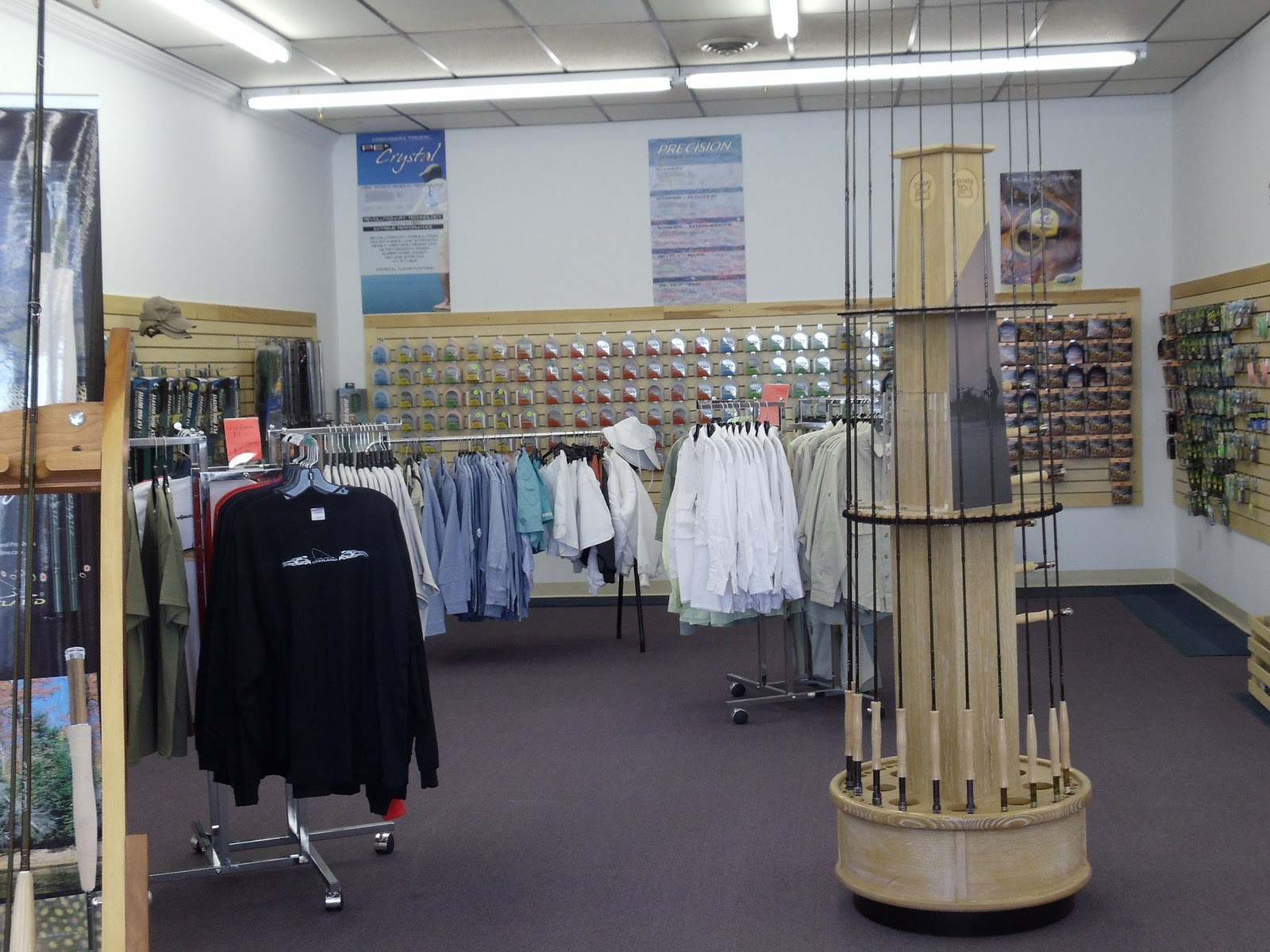 Cortland line company since 1915 factory store for Fishing factory outlet