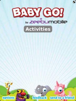 Baby GO Application for Blackberry