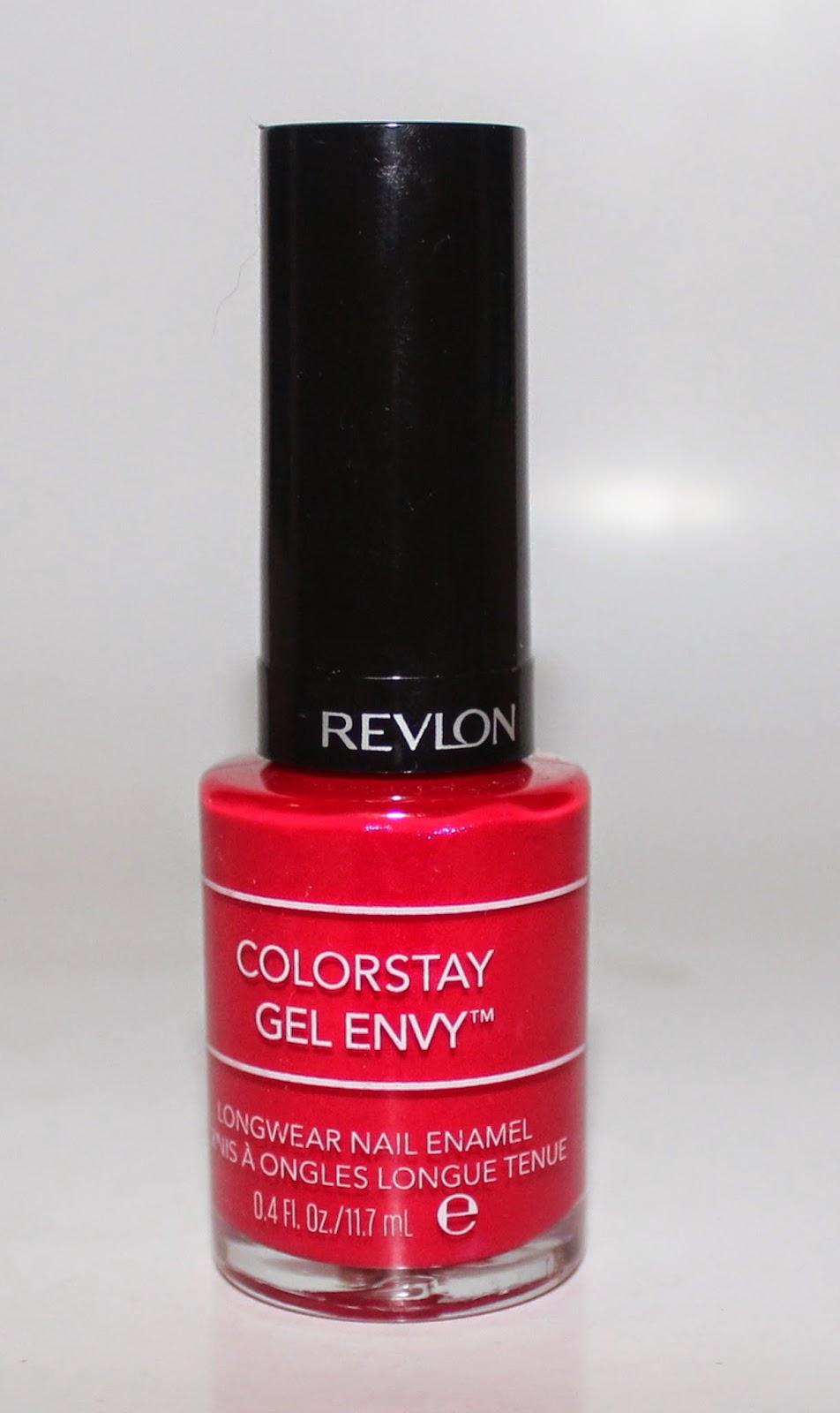 Revlon ColorStay Gel Envy Longwear Nail Enamel in Roulette Rush