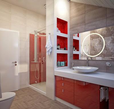 desain interior kamar mandi elegan dan mewah