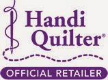 We're a Handi Quilter Authorized Rep!