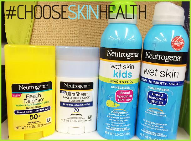 chooseskinhealth neutrogena