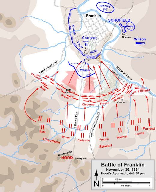 Battle of Franklin: 150 ago today