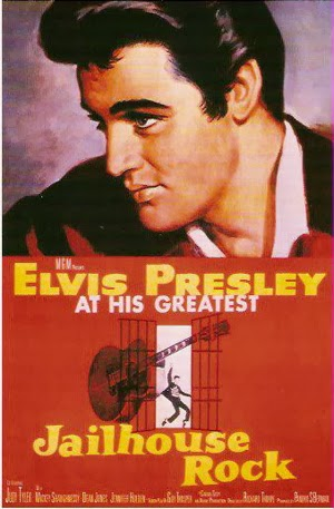 Hoe Spider Murphy Gang hun bandnaam kreeg - Elvis Presley - Jailhouse Rock Poster