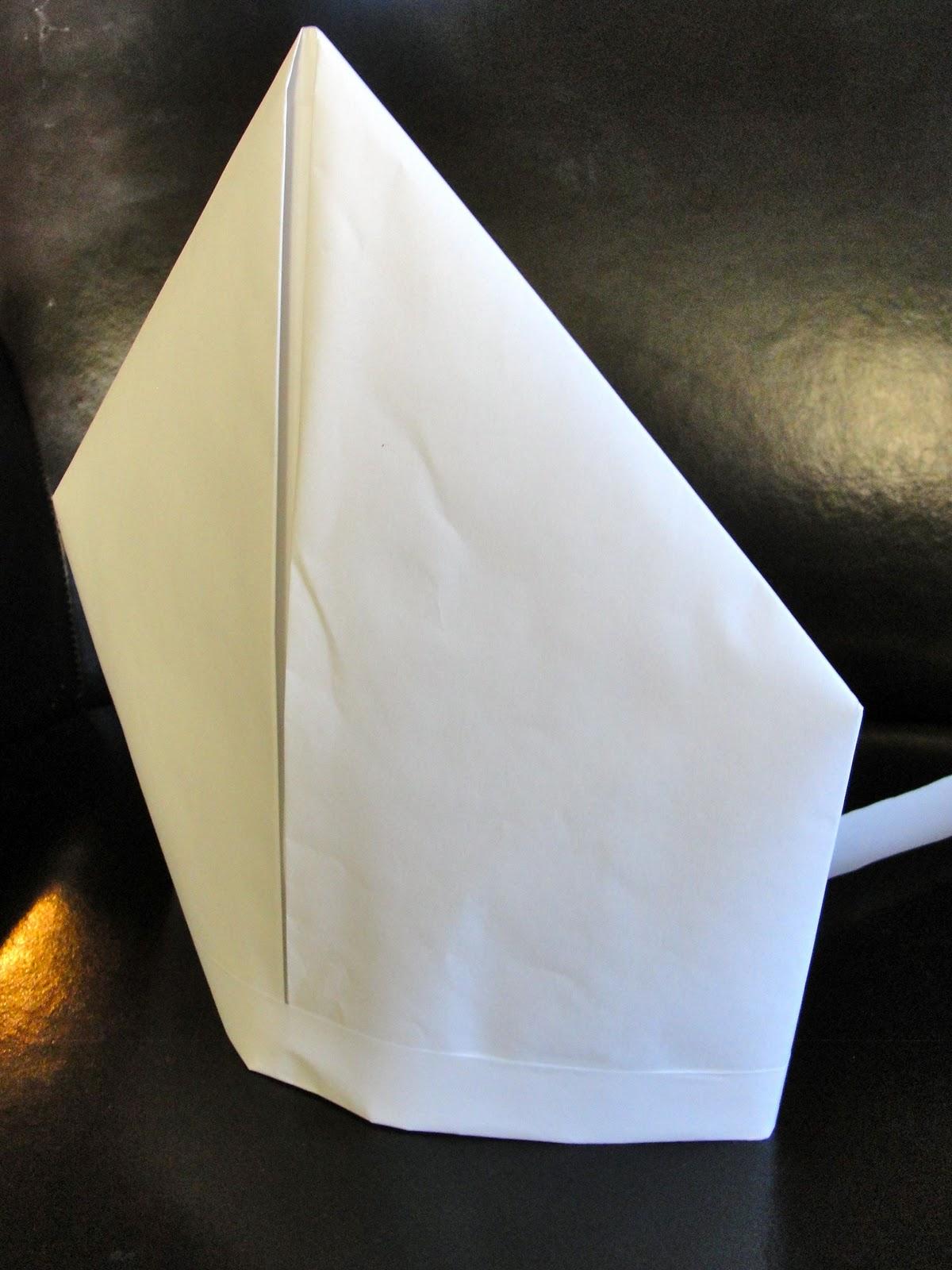 Paper Bishop Miter or
