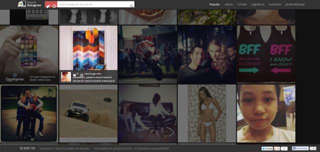 SearchInstagram (Visualizador de fotos de Instagram en tiempo real con búsqueda por etiqueta)