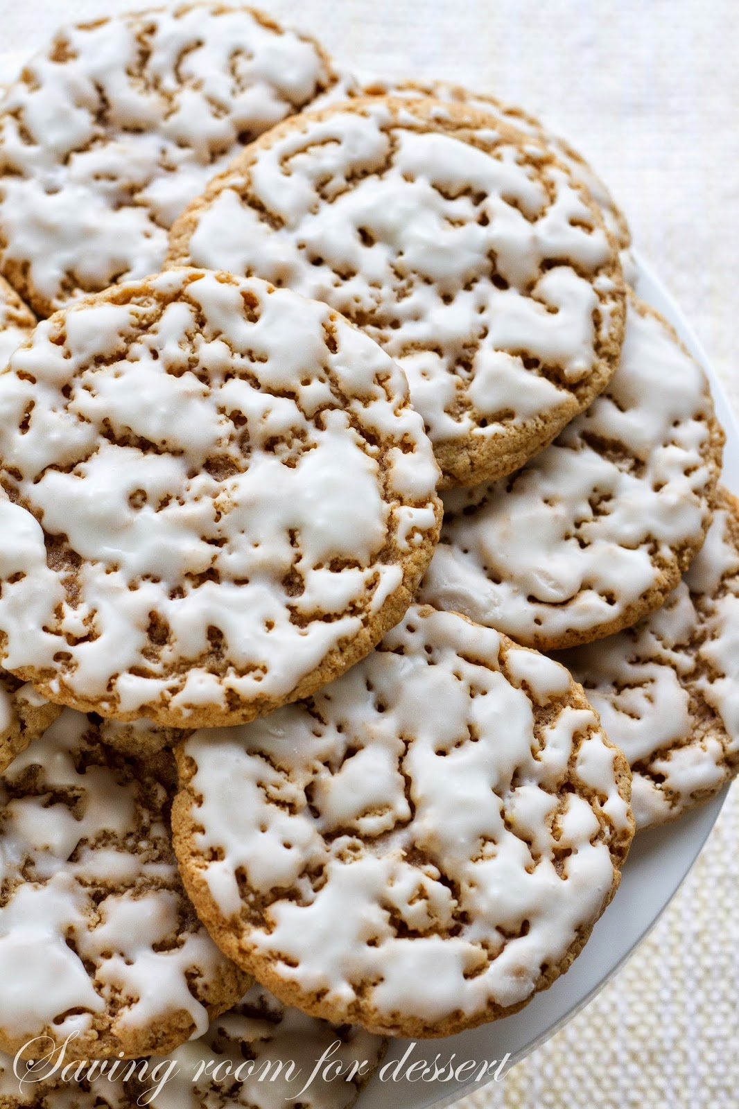 These 'homemade' Iced Oatmeal Cookies are so much better than store ...