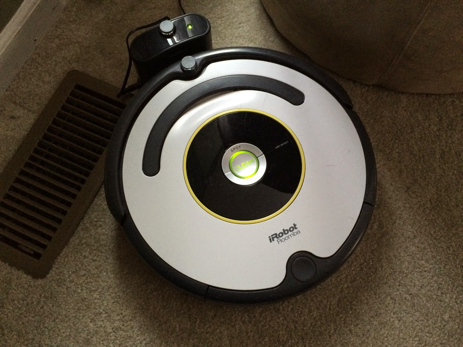I Stole it, and Tweaked it, and Here it is!: Roomba iRobot 620
