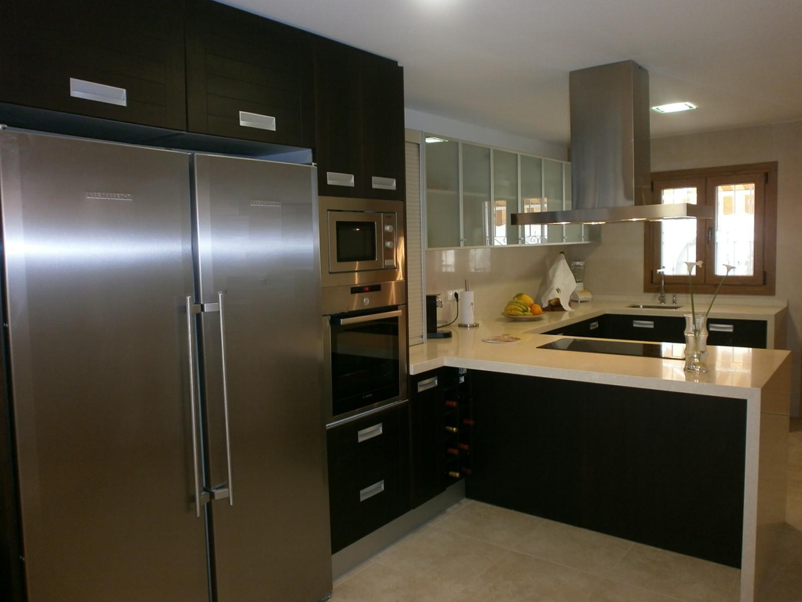 Muebles De Cocina Color Wengue - Diseños Arquitectónicos - Mimasku.com