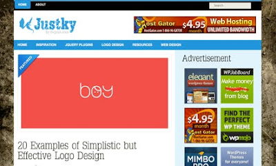 Justky WordPress Theme