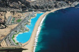 The Crystal Lagoon San Alfonso del Mar resort