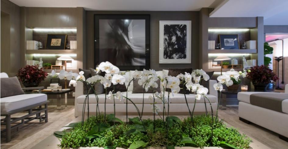 HD wallpapers salas decoradas com painel de gesso