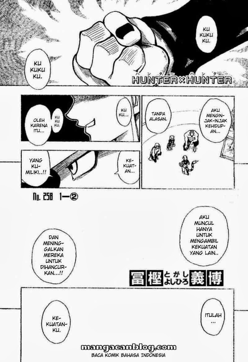 Komik hunter x hunter 258 - 1 - 2 259 Indonesia hunter x hunter 258 - 1 - 2 Terbaru 1|Baca Manga Komik Indonesia|Mangacan