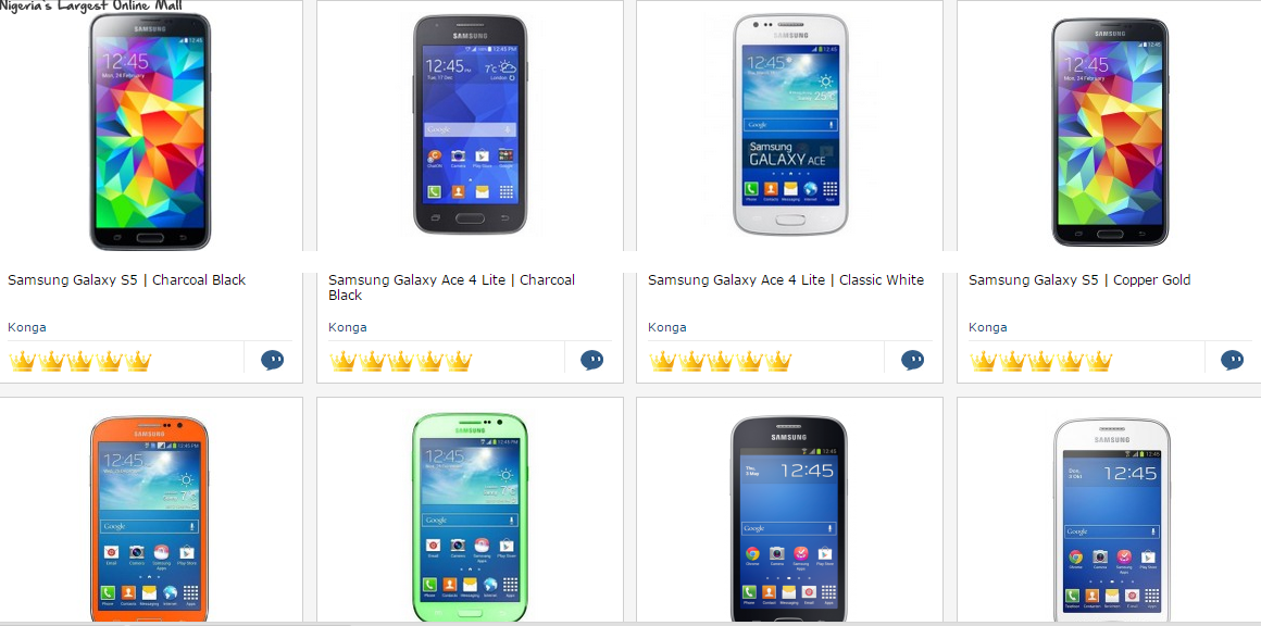 Samsung Galaxy Price List In Nigeria | Piratepoll - Mobile Phone ...