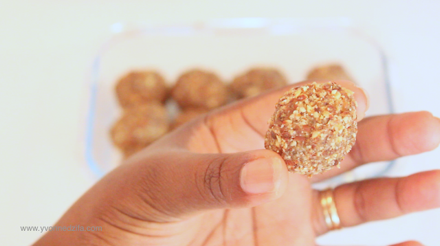 healthy protein balls post workout snack