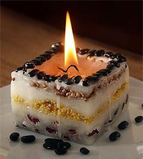 افضل طريقة لصنع شمعة لتزيين