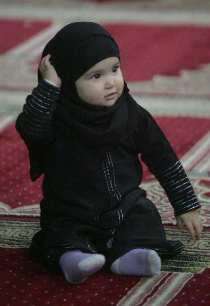 Foto Anak Kecil Hijab Lucu