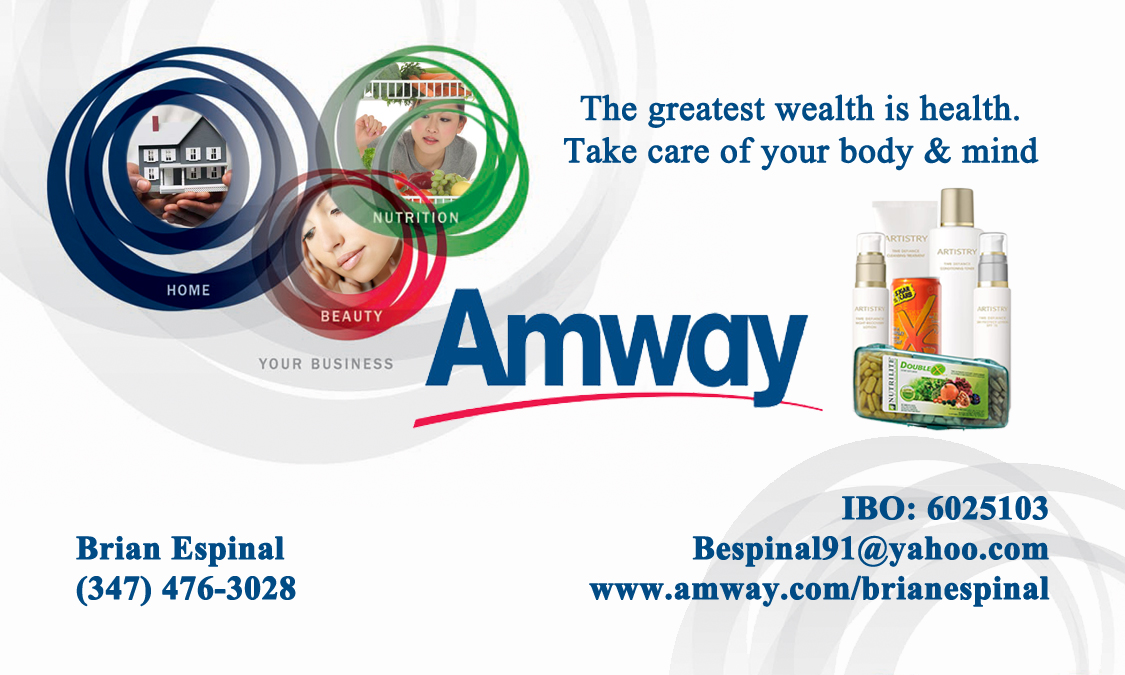 Luxury Pictures Of Amway Business Cards - The Business Cards ...