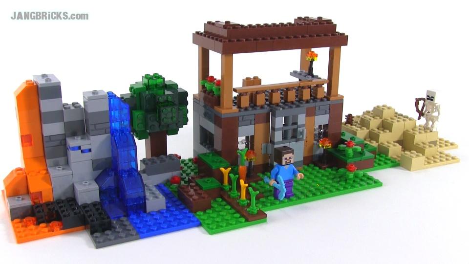 LEGO Minecraft: Crafting Box custom build