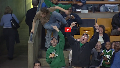 Jeremy Fry - Celtics Fan Dancing to Bon Jovi Living