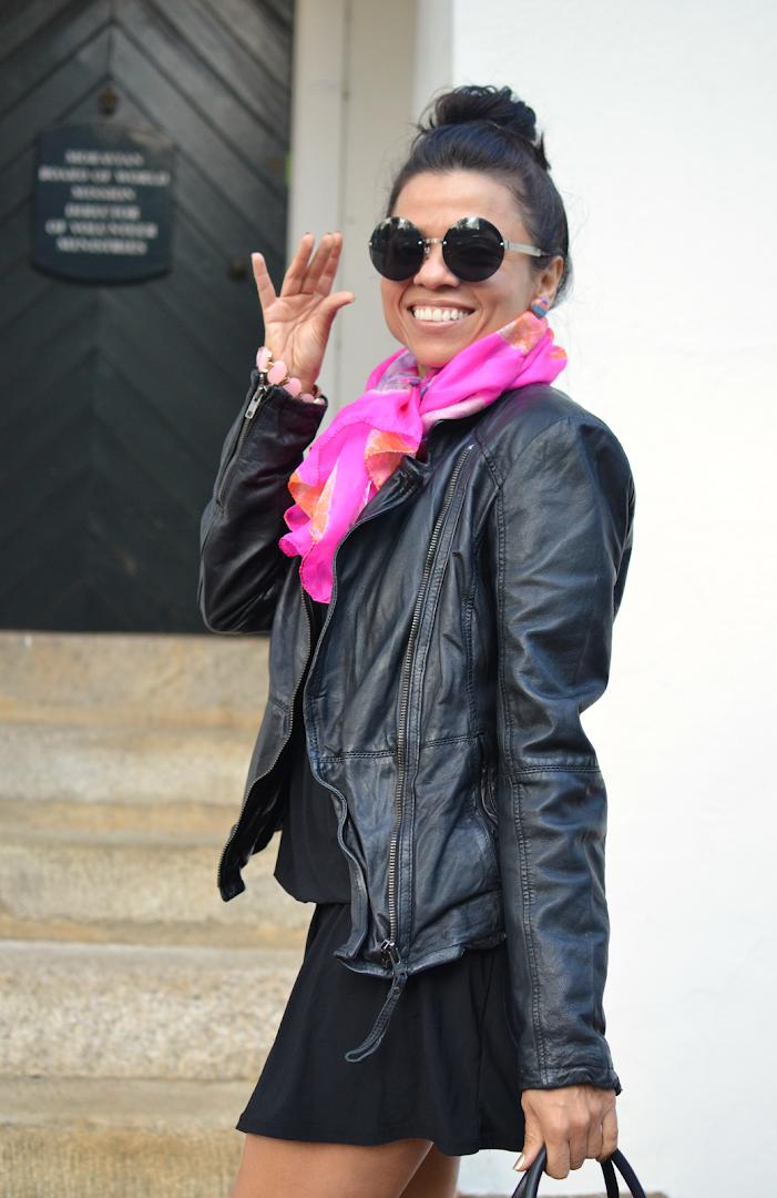 Round Sunglasses Street Style